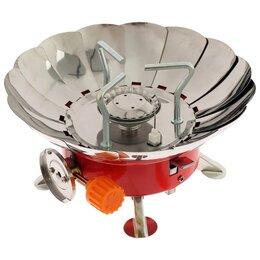 Туристические горелки и плитки - Плитка газовая портативная лепестковая с пьезоэлементом, 0