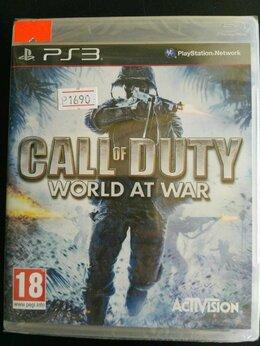Игры для приставок и ПК - Call of Duty. World at War (PS3), 0