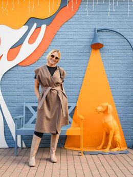 Жилеты - Удлиненный жилет в стиле Zara, 0