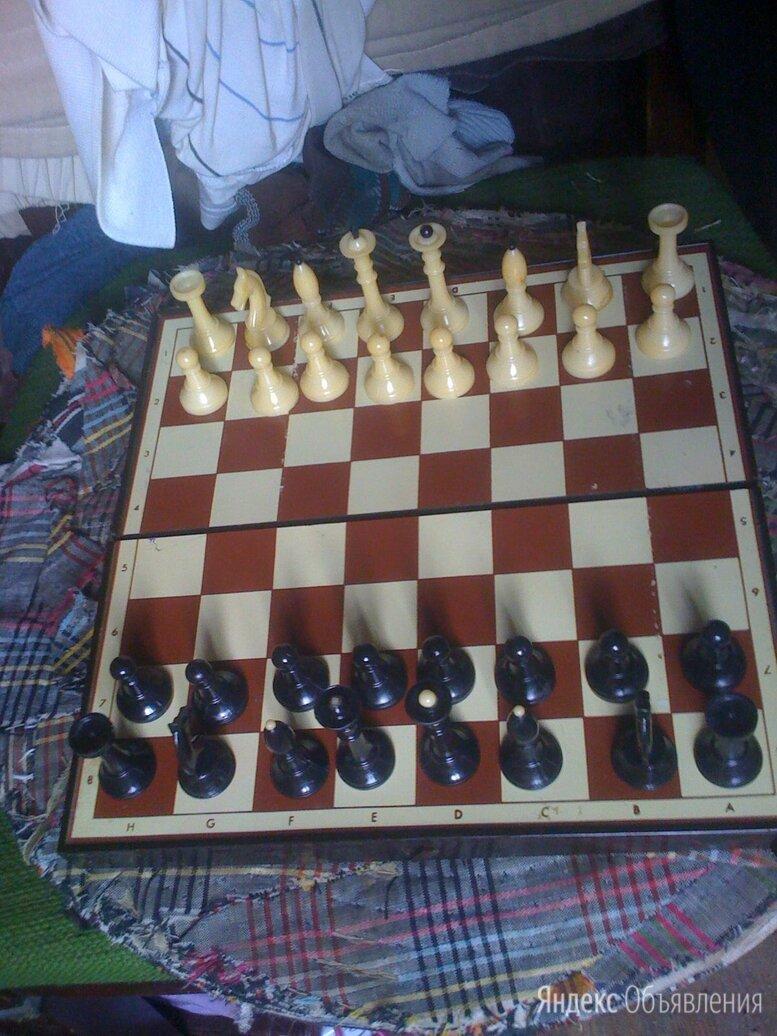 Советские шахматы пластиковые магнитные по цене 400₽ - Настольные игры, фото 0