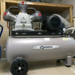 Воздушные компрессоры - Компрессор с ременной передачей СБ4/С-100.LB75 Remeza AirCast, 0