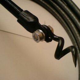 Инструменты для прочистки труб - Трос сантехнический ф 10мм L-10 м, 0