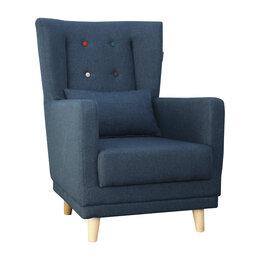 """Кресла - Кресло """"Клементина"""" с цветными пуговицами (темпо…, 0"""
