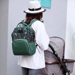 Рюкзаки и сумки-кенгуру - Рюкзак для мамы и малыша (зеленый, космос), 0