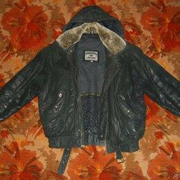 Куртки - Зимняя кожаная куртка, 0