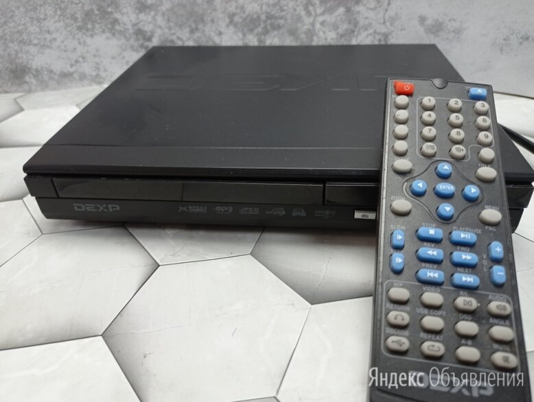 Видеоплеер DVD DEXP DVD-26HMK по цене 600₽ - DVD и Blu-ray плееры, фото 0