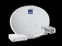 Спутниковое телевидение - Комплект спутникового интернета ТРИКОЛОР Gemini I, 0