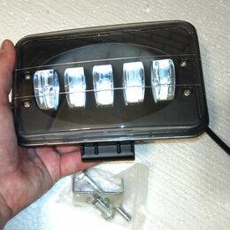 Электрика и свет - 50W Светодиодная фара не ослепляющая прямоугольная , 0