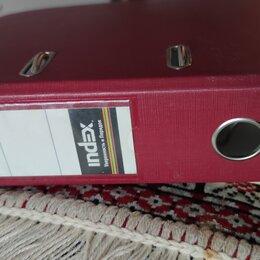 Канцелярские принадлежности - Папка регистратор 80 мм с арочным мех. (много), 0