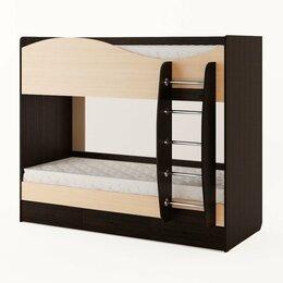 Кровати - Кровать двухъярусная с ящиками (без матраца) , 0