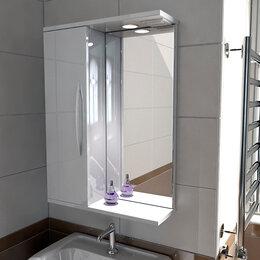 Шкафы, стенки, гарнитуры - Шкафчик с зеркалом в ванную Emmy Рокард 60 , 0