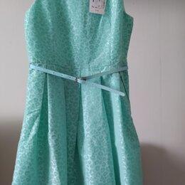 Платья и сарафаны - Платье для девочки светло-бирюзовое, 0