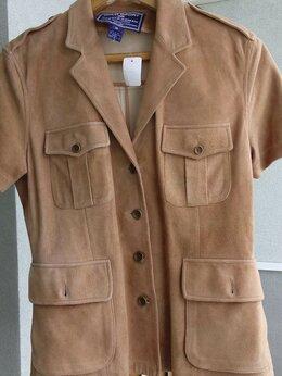 Пиджаки - жакет замшевый, 0