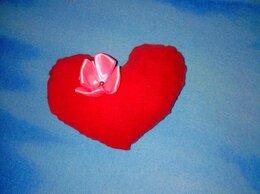 Сувениры - Подушечка игольница . В форме сердца, 0