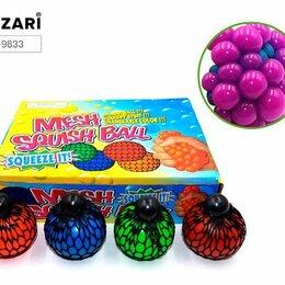 Игрушки-антистресс - Антистресс «Мялка-мячик» 6см М-9833, 0