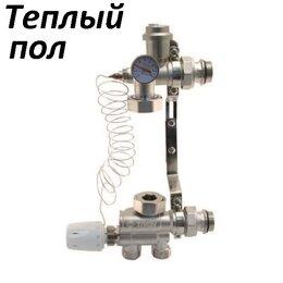 Комплектующие для радиаторов и теплых полов - Насосно-смесительный узел для теплого пола Taen…, 0