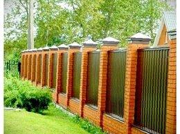 Заборы и ворота - Забор из профнастила, навесы, калитки, 0