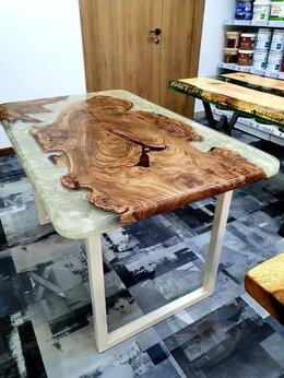 Столы и столики - Стол из массива капового карагача Стол обеденный…, 0