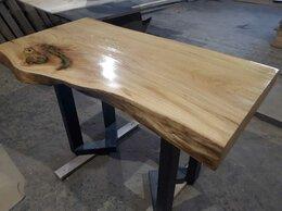 Столы и столики - Стол деревянный из слэба, 0