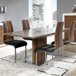 Столы и столики - Обеденный стол раздвижной 180-220 см орех ESF, 0