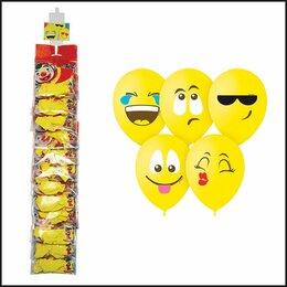 Воздушные шары - Шары воздушные, 5шт., М12/30см, Поиск «Эмоции…, 0