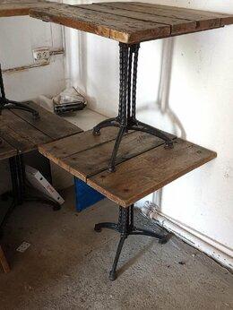 Столы и столики - Стол на чугунном основании, 0