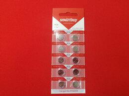Батарейки - Батарейка часовая SmartBuy AG6-10B 10 шт, 0