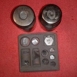 Измерительные инструменты и приборы - набор для калибровки весов, 0