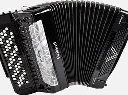 Клавишные инструменты - Цифровой баян Roland FR 8XB RED/BK, 0