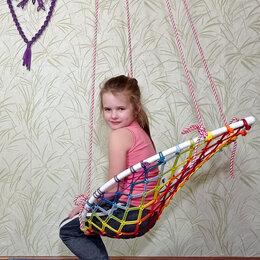 Лежаки и шезлонги - Качели гнездо шезлонг для дома дачи, 0