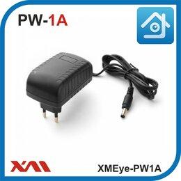 Блоки питания - Импульсный блок питания для камер видеонаблюдения 12 Вольт. 1 Ампер., 0