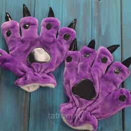 Кигуруми - Перчатки для кигуруми фиолетовые, 0