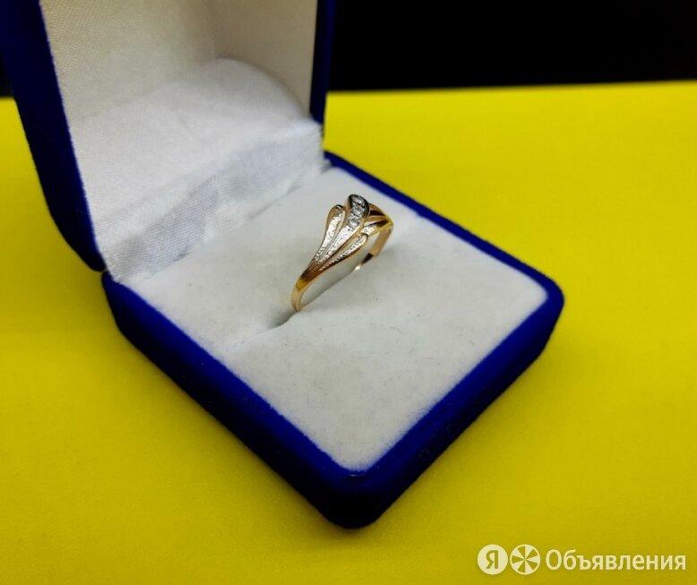 Кольцо золото 585 пробы. Масса 1.44 грамма (Р16,5) по цене 4824₽ - Кольца и перстни, фото 0