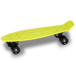 Скейтборды и лонгборды - Круизер INDIGO LS-P2206-D 56,5*15 см Салатовый, 0