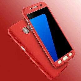 Чехлы - Чехол 360 Samsung j7 j5 красный., 0