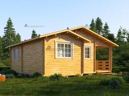 Готовые строения - Садовый домик из мини-бруса 7х7 «Абрикосовый» , 0