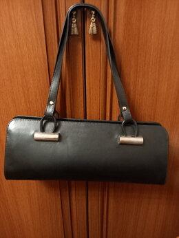 Сумки - Элегантная сумка из натуральной кожи, 0