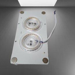 Рекламные конструкции и материалы - Модуль св/д с драйвером (24W-6500К)  160x80  на магнит, 0