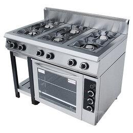 Промышленные плиты - Плита газовая Grill Master Ф6ПДГ/800, 0