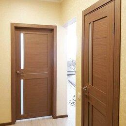 """Межкомнатные двери - Дверь межкомнатная экошпон """"2С1М"""" орех, 0"""