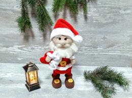 Другое - Вязаная фигурка Деда Мороза (Санта Клауса), 0