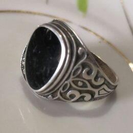 Кольца и перстни - Перстень мужской серебро 825 проба, 0