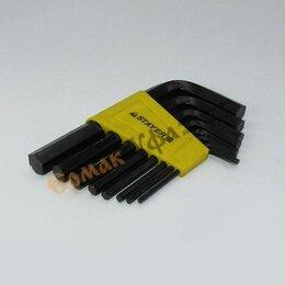 Наборы инструментов и оснастки - Набор ключей имбусовые 2-10мм 8пр Stayer Standard, 0