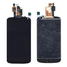 Дисплеи и тачскрины - Модуль - для смартфона LG Nexus 4 E960 черный, 0