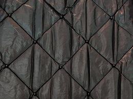 Рукоделие, поделки и товары для них - Стеганная курточная ткань с бусинками, 0