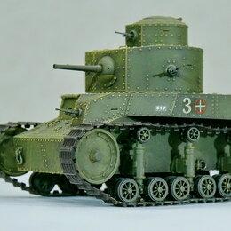 Сборные модели - 1/35 модель двухбашенного танка Т-24 образца 1930 года СССР, 1/35, 0