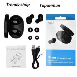 Наушники и Bluetooth-гарнитуры - Беспроводные наушники A6S, 0