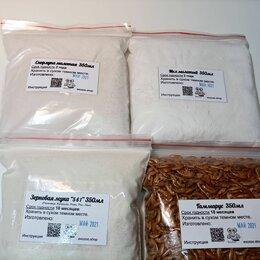 Прочие товары для животных - Комплект № 4 подкормок: Скорлупа, Мел, Гаммарус и Зерномука по 350мл для улиток, 0