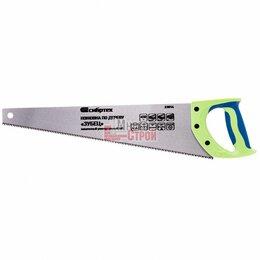 Пилы, ножовки, лобзики - Ножовка по дереву «Зубец», 450 мм, 7-8 TPI, зуб 3D, каленый зуб, 2-х компонентна, 0