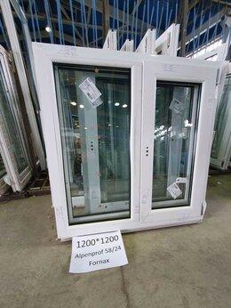 Окна - Окно ПВХ готовое 1200*1200мм, 0